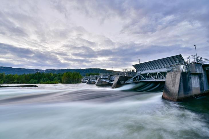 Byglandsfjor dam